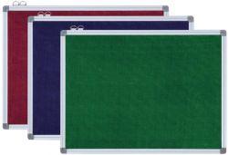 Aluminium Frame Fabric Pin Board