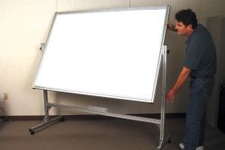 Revolving Dry Erase Markerboard