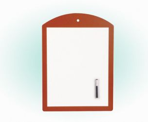 Magnetic Whiteboard With Wood Frame