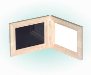 Pine Wood Frame Whiteboard