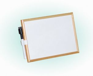 Magnetic Whiteboard With Marker