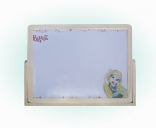 Wood Frame Magnetic Whiteboard