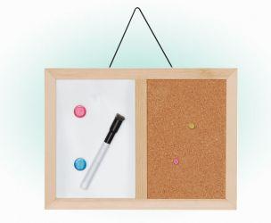 Whiteboard And Corkboard