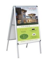 Double Sided Poster Stand A Frame