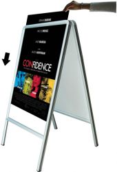 Double Sides Poster Frame Stand