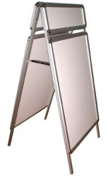 A Board Snap Poster Stand