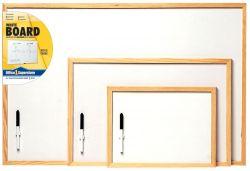 Pine Frame Whiteboard