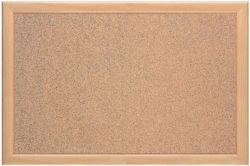 Natural Oak Frame Corkboard