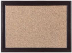 Black Wooden Cork Board