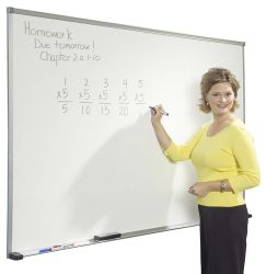 Wall Mounted Porcelain Enamel Whiteboard