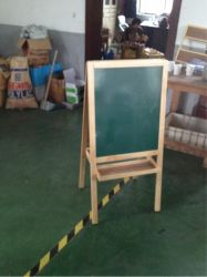 children wooden drawing easel