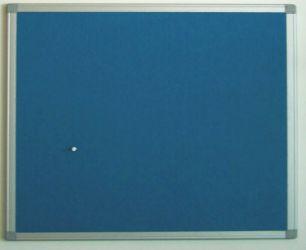 Blue Aluminium Frame Felt Board