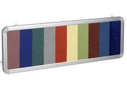 Coloured Felt Board