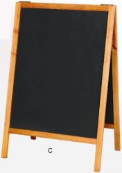 Wooden Chalkboard Stand