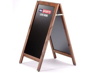Chalkboard Display Board