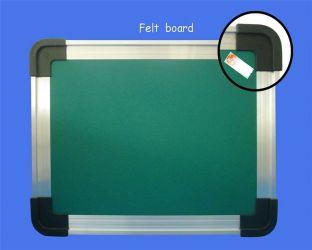 Alu-frame Fabric Pin Board
